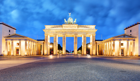 Brandenburg Gate of Berlin, Germany 版權商用圖片