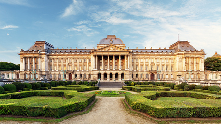 Belgian Royal Palace in Brussels Editorial