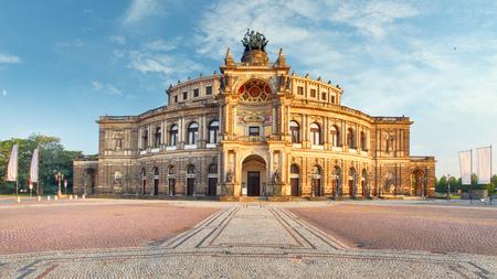 Dresden - Semperoper, Germany 写真素材
