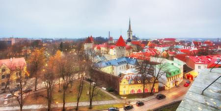 Estonia, Tallinn city view