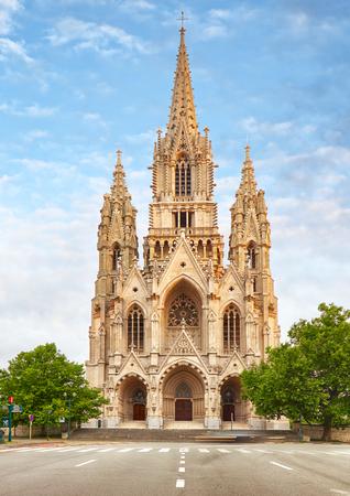 Notre Dame du Sablons Cathedral in Brussels, Belgium