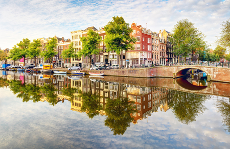 Netherlands, Amsterdam at day