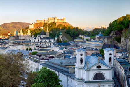 Salzburg castle, Austria