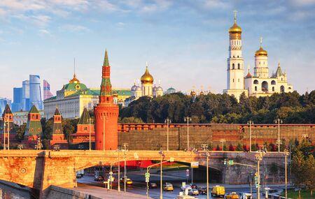 Moscow Kremlin at sunrise, Russia 写真素材