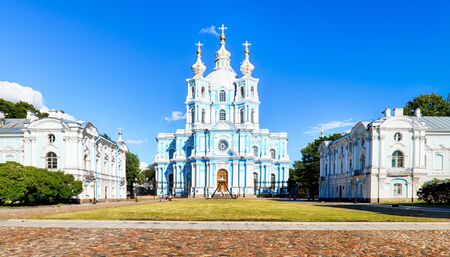 Saint Petersburg - Smolny Cathedral, Russia