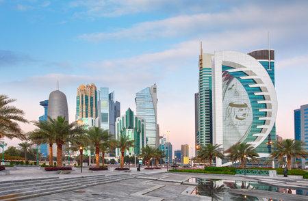Qatar - Doha skyline