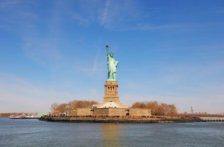 American symbol - Statue of Liberty. New York, USA. Stok Fotoğraf