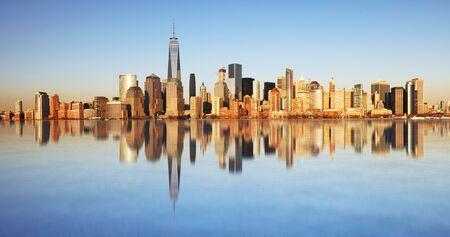 Panoramic view of Manhattan, New York Stok Fotoğraf