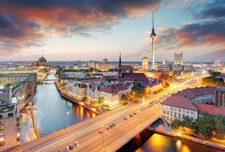 Germany, Berlin cityscape