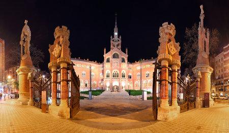 Barcelona - Hospital de la Santa Creu i de Sant Pau 에디토리얼