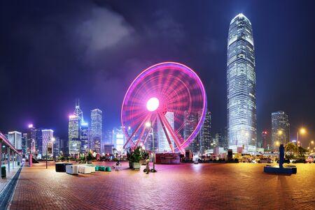 Observation Wheel, Hong Kong Foto de archivo
