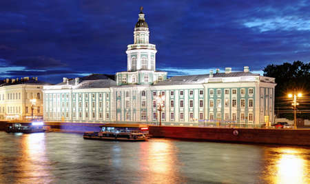 St. Petersburg - The Kunstkamera (Museum of Anthropology and Ethnography), Russia Editoriali
