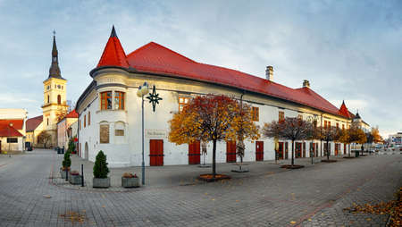 Church in Slovakia city Pezinok