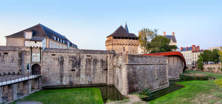 France - Nanste, Castle of the Dukes of Brittany or Chateau des ducs de Bretagne
