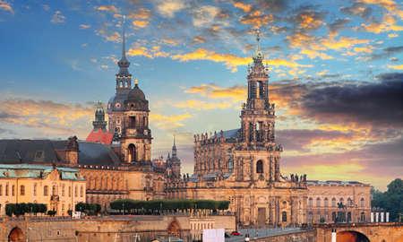 Beautiful view of old town in Dresden Reklamní fotografie - 164481830