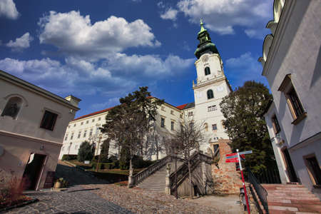 Beautiful view of Nitra castle at day