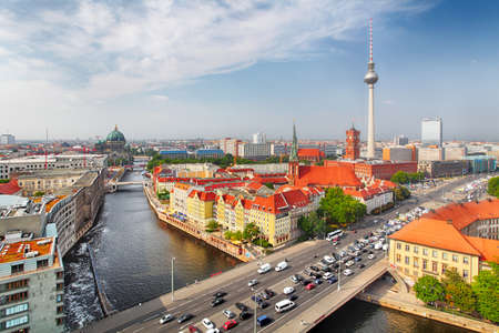 Beautiful view of Berlin cityscape Reklamní fotografie