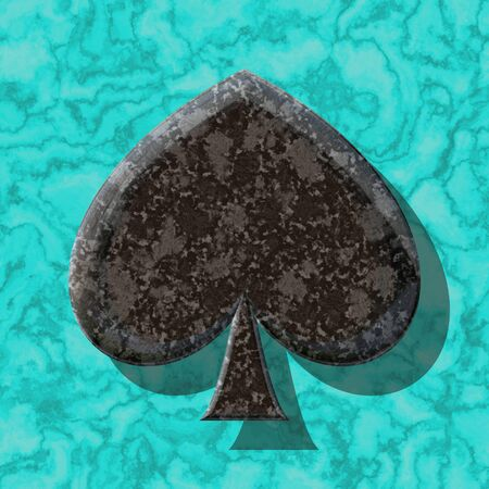 practical: Abstract decorative symbol - practical shape Stock Photo