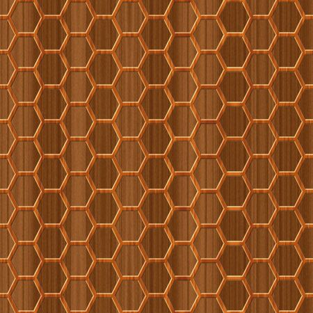 grille: Wood texture - grille pattern Stock Photo