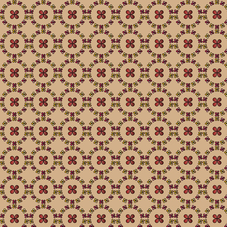 brown pattern: Decorative background - abstract brown pattern
