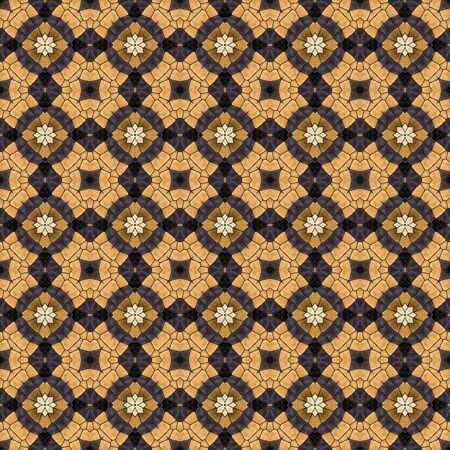mosaic: Mosaic texture - decorative pattern