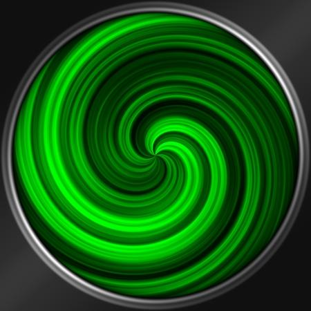 spiral pattern: Abstract decorative sphere - spiral pattern