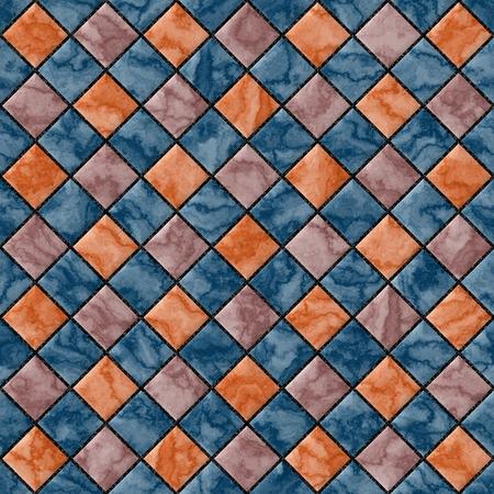 floor tiles: Abstract decorative multicolor texture - square floor tiles