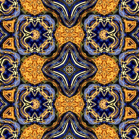 kaleidoscopic: Abstract decorative multicolor texture - kaleidoscopic ornamental pattern