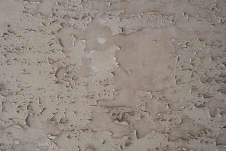 Peeling Paint flaking On the White ceiling