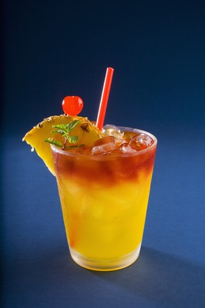 mai tai Stock Photo