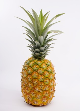 ripe: A ripe Hawaiian pineapple Stock Photo