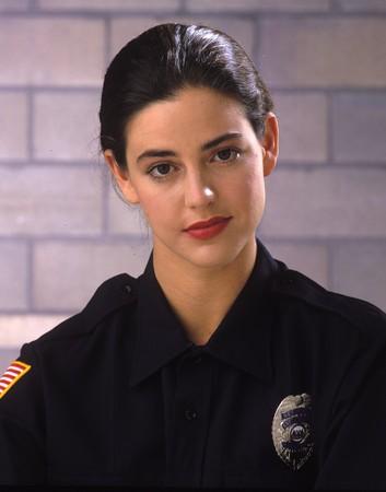 a female law enforcement officer