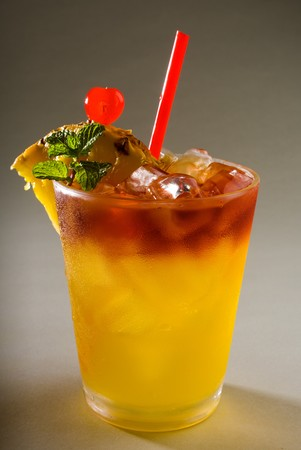 refreshes: A tropical maitai cocktail from hawaii