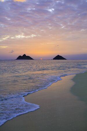 windward: pacific sunrise on the windward side of Oahu