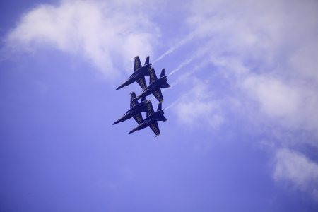 KANEOHE, HI 9 30 12 Blue Angels, Kaneohe airshow Editorial