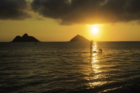 sunrise at lanikai Stock Photo - 18152133