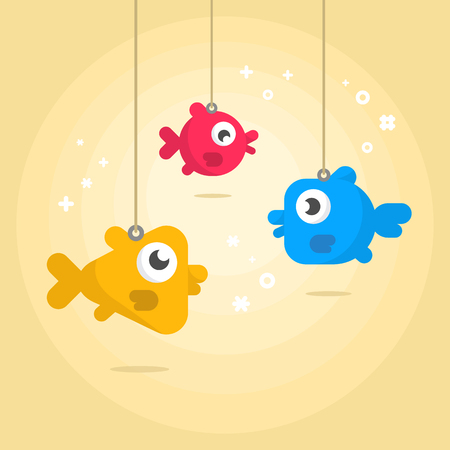 fishes: Picture of funny fishes.