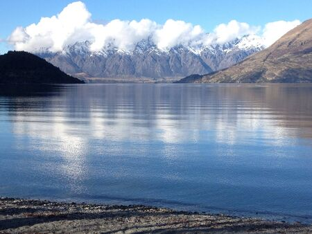 wakatipu: Wakatipu lake, New Zealand
