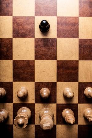 racismo: Racismo ajedrez!