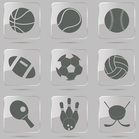 team sport: vector illustration of collection of different sport Illustration