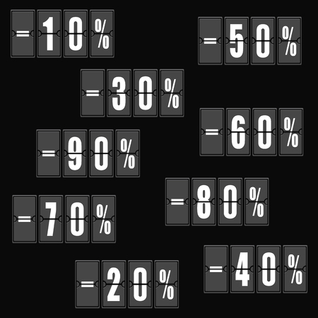 Discount prices vector illustration Illustration