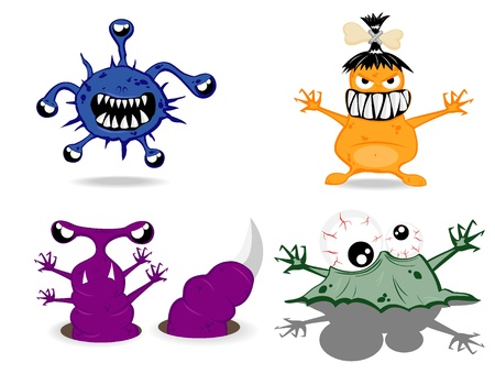 set of monsters Stock Vector - 9501626