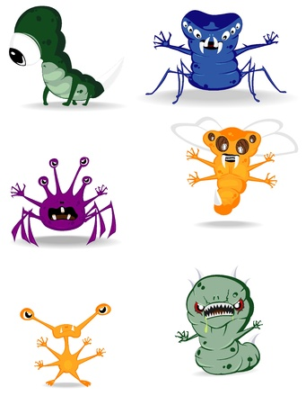 set of monsters Stock Vector - 10318151