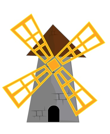 traditional windmill: mill.