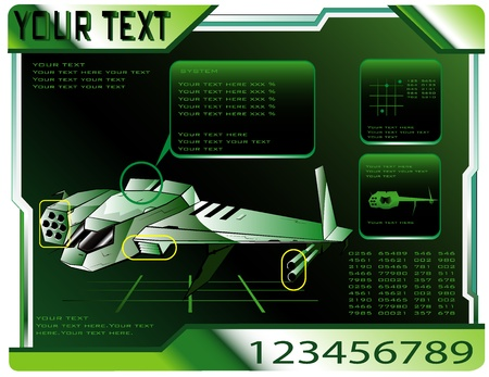 spaceship technical data.