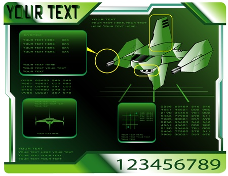 interceptor: spaceship technical data