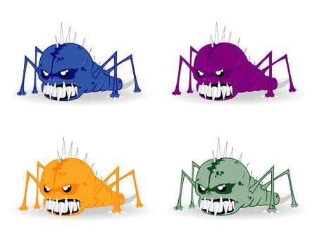 set of monsters Stock Vector - 12862352