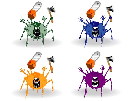 set of monsters Stock Vector - 12862351
