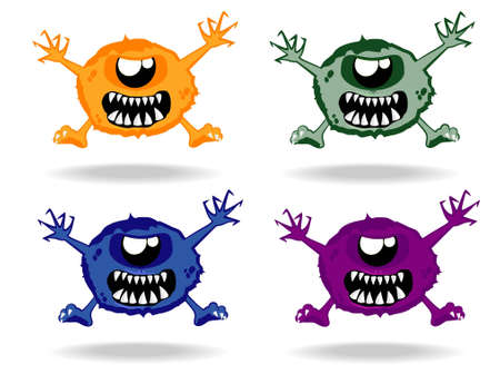 set of monsters Stock Vector - 12862350