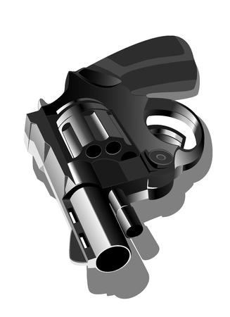 illustration of gun Vector